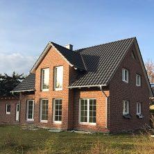 Modernes Einfamilienhaus mit Klinkeroptik